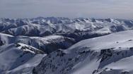 Mountain Top Pan 01 Stock Footage