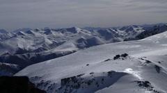 Mountain Top Snow 01 Stock Footage
