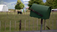 Rural Letterbox 01 Stock Footage