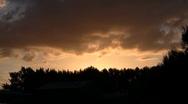 Sunset T06 Stock Footage