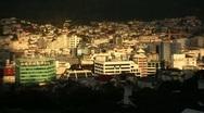 Wellington City Sunset 01 Stock Footage