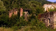 Stock Video Footage of The ruins in the mountains in the North Caucasus