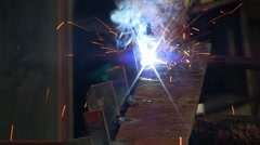 Arc Weld 01 Stock Footage