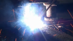 Arc Weld 03a - stock footage