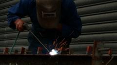 Arc Weld 11 - stock footage