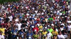 Marathon 15 Stock Footage
