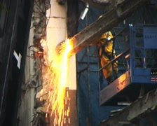 Cutting Torch 01 Stock Footage