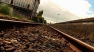 Railway Track 05 Stock Footage