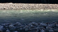 Stock Video Footage of River CU Fast Flow 01