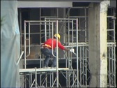 Stock Video Footage of Scaffolder 01