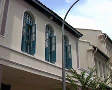 ShopHouses SG 01b Stock Footage