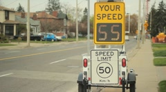 Your speed. Stock Footage