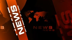 News crimsoncolor background v1 Stock Footage