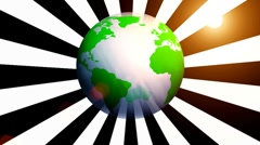 Recycle world animation generic v2 Stock Footage