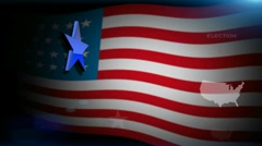 United States presidential election 2012 FullHD Stock Footage