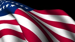 "USA original Flag cloth texture 1920x1080 ( Vote 2012 )"" Think Different "" Stock Footage"