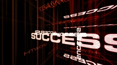 Success wire environment color 2 Stock Footage