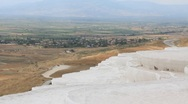 "Stock Video Footage of Pamukkale - ""cotton castle"", Denizli Province in southwestern Turkey"