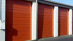 Personal Storage Facility 2 Stock Footage
