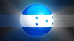 Honduras-Globe Stock Footage