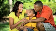 Loving Ethnic Family Enjoying Time Together Stock Footage