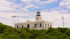 Puerto Rico - Arecibo lighthouse v2 Stock Footage