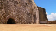 Puerto Rico - El Morro Fortress - Oldest Fort Structure 3 Stock Footage