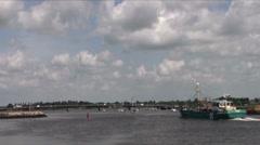 Fishing Trawler 2 Stock Footage