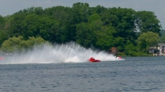 APBA National Hydroplane Races Stock Footage