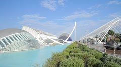 City of Arts and Sciences 19 Stock Footage