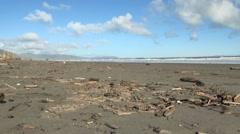 Kapiti Beach in New Zealand Stock Footage