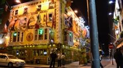 Temple Bar, Dublin, Ireland. Stock Footage