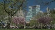 World Trade Center Globe (long shot) Stock Footage
