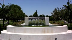 Water Fountain Green water Stock Footage