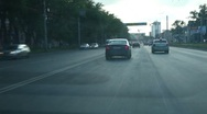 City Driving Stock Footage