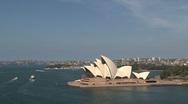 Stock Video Footage of Sydney Opera house