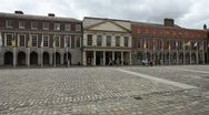 Dublin Castle Stock Footage