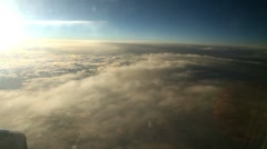 Flying among the clouds Stock Footage