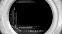 Movie camera shutter. - stock footage