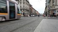 Dublin City Centre Stock Footage