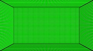 Stock Video Footage of Green Screen Design 25 box flickering