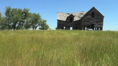 Old Farm House Stock Footage