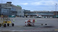 Stock Video Footage of Airport Runway