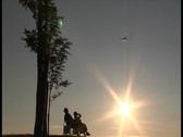 Jet flypast Stock Footage