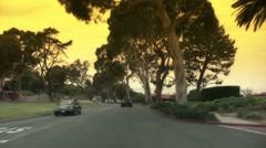 LA Traffic Drivelapse Stock Footage