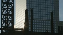 Skyscrape patterns three Stock Footage