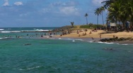 Stock Video Footage of Puerto Rico - Escambron Beach 1