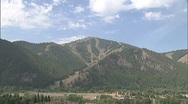 Stock Video Footage of Idaho Summer Ski Resort zoom