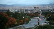 Boise Fall Dawn Dusk Stock Footage