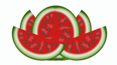 Watermelon Stock Footage